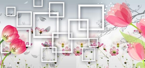 3d floral background, 3d Backgroun, Floral Backgroun, 3d Flower Background image