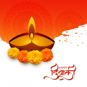 diwali greeting card with beautiful lamp festival background , Abstract, Light, Diwali Background image