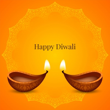 happy diwali festival yellow background , Diwali, Background, Abstract Background image