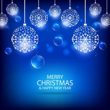 मेरी क्रिसमस और नीले रंग की पृष्ठभूमि के साथ नए साल की पृष्ठभूमि वेक्टर टेम्पलेट , पृष्ठभूमि, क्रिसमस, छुट्टी पृष्ठभूमि छवि