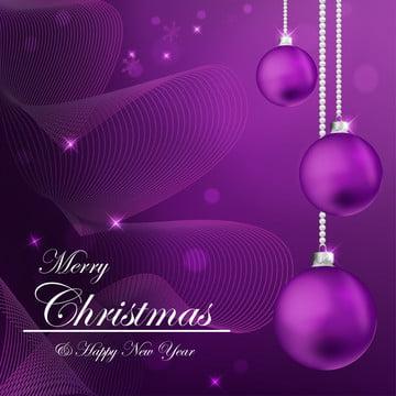 मेरी क्रिसमस और बैंगनी पृष्ठभूमि वेक्टर पर नया साल मुबारक हो , पृष्ठभूमि, क्रिसमस, छुट्टी पृष्ठभूमि छवि