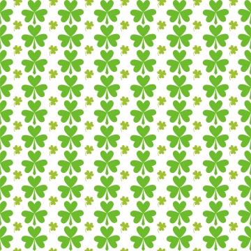 聖パトリックの日シームレスな緑の葉のパターン , 背景, 祝い, クローバー 背景画像