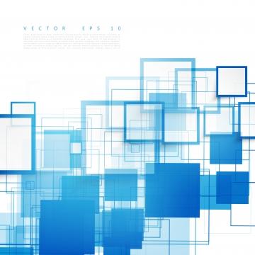 透明な正方形の白い抽象的な壁紙 , 背景, ベクター, ブルー 背景画像