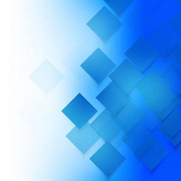青い正方形と抽象的な背景 , 背景, ベクター, ブルー 背景画像