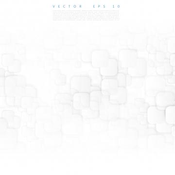 丸みを帯びた正方形の抽象的な白いバナー , 背景, ベクター, 白 背景画像