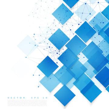 नीले कागज वर्गों के साथ सार सफेद वॉलपेपर , पृष्ठभूमि, वेक्टर, नीले पृष्ठभूमि छवि
