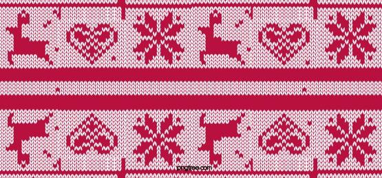 クリスマスエルクスノーフレークセーターレッド, セーター, クリスマスの背景, クリスマスの雪 背景画像