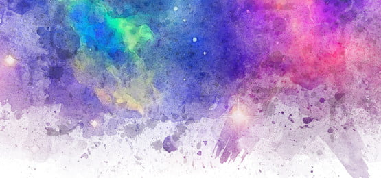 watercolor galaxy abstract brush background, Watercolor, Galaxy, Abstract Background image