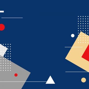 メンフィススタイルの背景の平らな幾何学的図形 , 抄録, 抽象的な背景, 背景 背景画像
