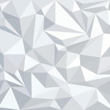white polygon geometric triangle vector background , Background, 3d, Triangle Background image