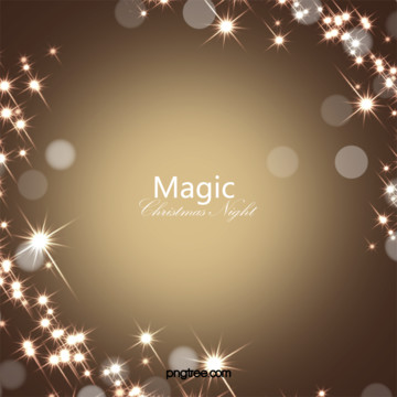 황금 마법의 별 크리스마스 배경 , 별빛, 마법, 금빛 배경 이미지