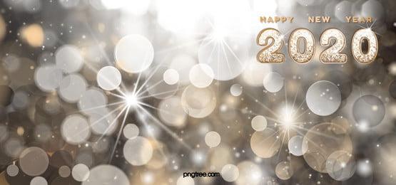 2020 năm mới luxury fantasy hiệu ứng ánh sáng nền, 2020, Nền, Chúc Mừng Năm Mới! Ảnh nền
