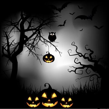 अंधेरे हेलोवीन पृष्ठभूमि , डार्क हैलोवीन, हेलोवीन, वेक्टर हेलोवीन पृष्ठभूमि छवि