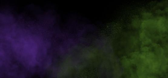 green and purple combination smoke, Smoke, Wave, Chemistry Background image
