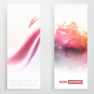 सफेद गुलाबी गुलाबी स्याही के साथ ऊर्ध्वाधर बैनर , लहर, रंग, रंग पृष्ठभूमि छवि
