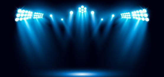 चरण दृश्य सुर्खियों प्रभाव वेक्टर उदाहरण के साथ नीले रंग सुर्खियों रे दृश्य, 3 डी, सार, कला पृष्ठभूमि छवि