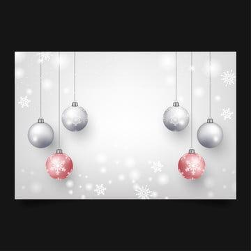 क्रिसमस डिजाइन और वेक्टर चित्रण के लिए गुलाबी और गुलाबी क्रिसमस गेंदों के साथ क्रिसमस की पृष्ठभूमि , पृष्ठभूमि, क्रिसमस, सर्दियों पृष्ठभूमि छवि