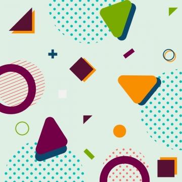 トレンディな幾何学的図形メンフィスヒップスター背景 , 背景, 幾何, テクスチャ 背景画像