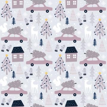 सर्दियों और क्रिसमस की सजावट के लिए शीतकालीन पैटर्न , आराध्य, पशु, पृष्ठभूमि पृष्ठभूमि छवि