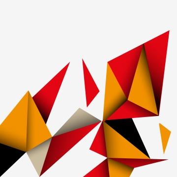 minimalist red and orange polygonal background , Background, Abstract Background, Abstract Background image