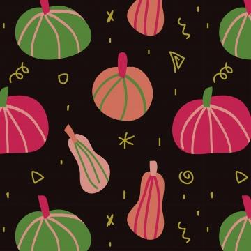 शरद ऋतु का कद्दू पैटर्न , कद्दू, लौकी, सब्जी पृष्ठभूमि छवि