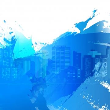 सफेद नीले वॉलपेपर पेंट दाग शहर की इमारत , स्याही, Splattered, छींटे पृष्ठभूमि छवि