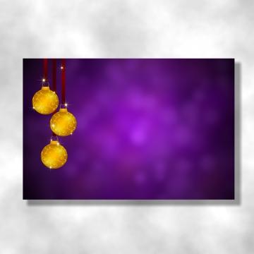 럭셔리 골드 장식 공 및 보라색 배경 , 크리스마스, 배경, 김 배경 이미지