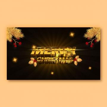 메리 크리스마스 황금 글자 , 서예, 축하, 크리스마스 배경 이미지