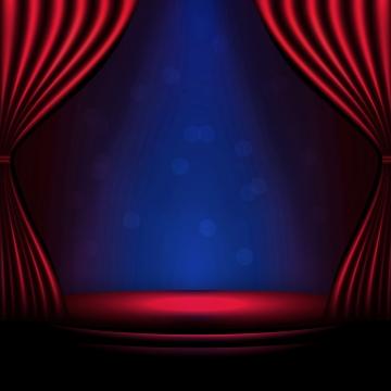 무대 배경 빨간색과 파란색 , 단계, 배경, 무대 배경 배경 이미지