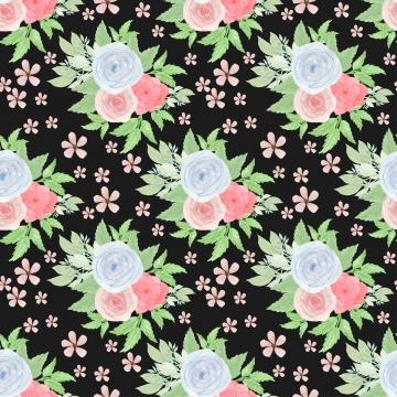 फूलों और रसीला के साथ पुष्प सहज पैटर्न , फूल, पुष्प, पैटर्न पृष्ठभूमि छवि