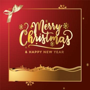 紅色和金色聖誕 , 耶誕節, 佳節, 金 背景圖片