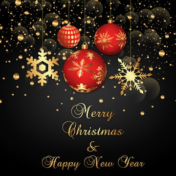 latar belakang natal dengan bola emas , Tahun, Anak Panah, Snow imej latar belakang