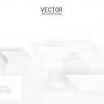 पारभासी क्यूब्स के साथ सफेद ज्यामितीय बैनर , सार, पृष्ठभूमि, डिजाइन पृष्ठभूमि छवि