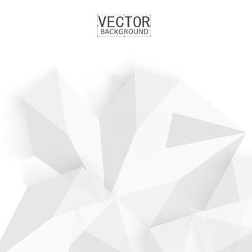 흰색 기하 벽지 다각형 삼각형 , 다이제스트, 모드, 다각형 배경 이미지