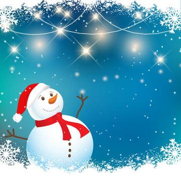 क्रिसमस स्नोमैन पृष्ठभूमि , क्रिसमस, वेक्टर, पृष्ठभूमि पृष्ठभूमि छवि