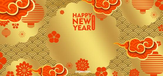 황금 패턴  음력설  전통 배경, 황금 새해 전통 배경, 음력설 배경, 새해 배경 음영 배경 이미지