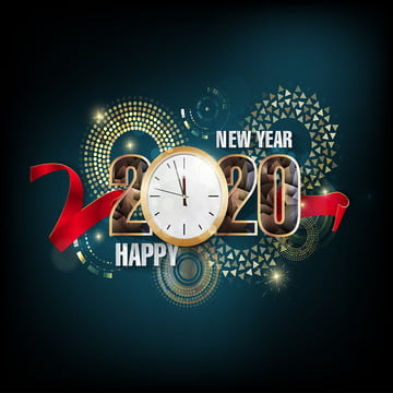 feliz natal e feliz ano novo 2020 , Natal, Ouro, Círculo Imagem de fundo