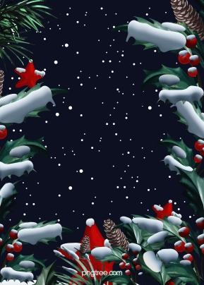 snowy christmas bertekstur holly latar belakang , Snowing, Winter, Tangan Dicat imej latar belakang