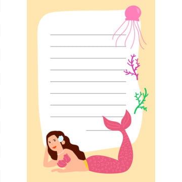 mermaids नोट बुक , ग्राफिक, मानव, किशोर पृष्ठभूमि छवि