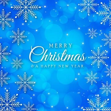 눈송이와 아름 다운 크리스마스 블루 배경 , 크리스마스, 메리, 배경 배경 이미지