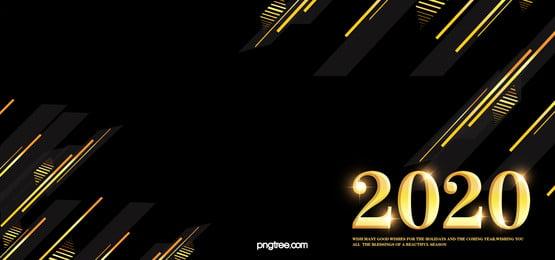 พื้นหลังไล่ระดับสี, Stereoscopic, 2020, ทองสีดำ ภาพพื้นหลัง