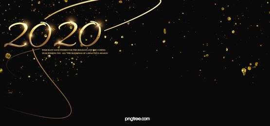 พื้นหลังสไตล์แววทองโรย, Stereoscopic, 2020, ทองสีดำ ภาพพื้นหลัง
