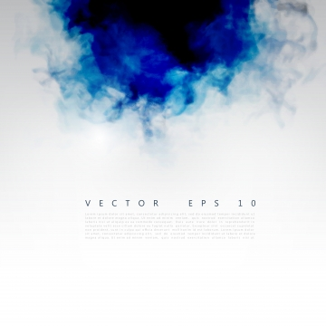 अमूर्त नीली स्याही वाला पानी दाग वॉलपेपर , धुआं, वेक्टर, रंग पृष्ठभूमि छवि