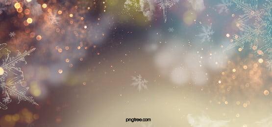 fundo de fantasia de floco de neve de inverno, Fantasia De Fundo, Snowflake, Background Imagem de fundo