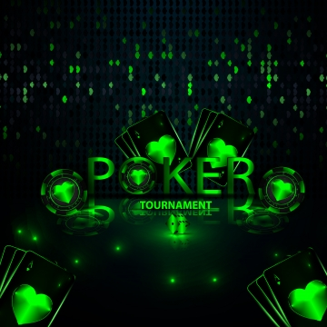 banner casino gambling tournament design 3d with realistic playing cards , Play, Game, Luck Background image