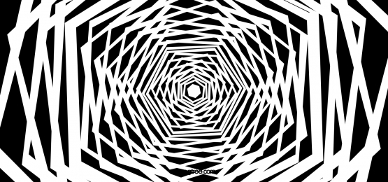 hand drawn vector spiral pattern optical illusion material
