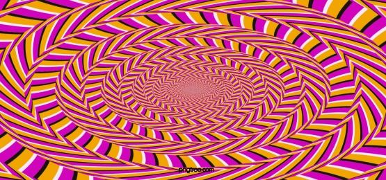 rotating optical illusion pattern background