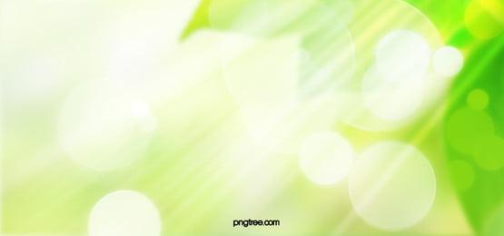 green environmental protection spring creative background