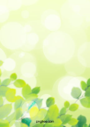 spring creative environmental protection background