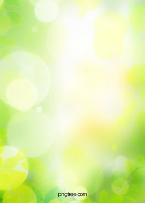 spring green environmental protection background